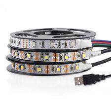 USB LED Strip Light DC 5V USB LED Tape SMD 3528 LED Ribbon 50cm 1m 2m 3m 4m 5m