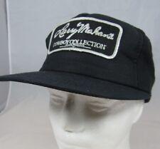 a100b3ac758 ... 7 1 4. Vtg Larry Mahan s Cowboy Collection Black Hat Snap Back Cap NWOT  NOS Patch