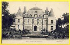 cpa CASTLE SCHLOSS Ecrite en 1904 ORSAY (Essonne) CHÂTEAU de CORBEVILLE  Appert