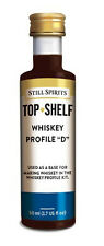 STILL SPIRITS TOP SHELF WHISKEY PROFILE ' D ' -  HOME BREW