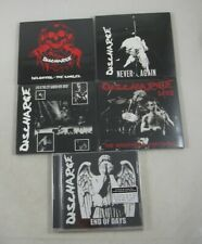 Discharge Decontrol Never Again Live New Jersey Nightmare Continues LOT 5 CDs