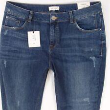 NEW Womens River Island ALANNAH Stretch Skinny Blue Jeans W36 L30 Size 18 R BNWT
