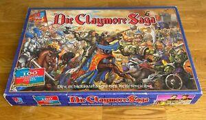 Die Claymore Saga - Der Schicksalskampf des Keltenreichs MB Spiele Tabletop