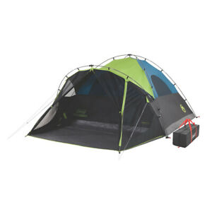 Coleman 6-Person Darkroom Fast Pitch Dome Tent w/Screen Room