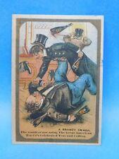 Great American Tea Company Tea & Toilet Sets Brandy Smash Trade Card 1800s