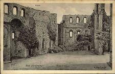 Bad Dürkheim Pfalz 1910 Ruine Kloster Limburg Krypta Zeichnung Schweitzer Kunst