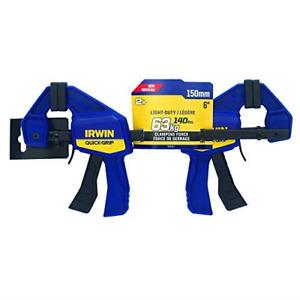 """IRWIN T5462EL7 QUICK-GRIP 150mm 6"""" Mini Clamp - 2 Pack"""