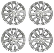 """18"""" Chrome Wheel Skins / Hubcaps (4 Pieces) FOR 2017 2018 2019 Cadillac XT5"""