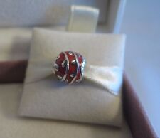 New w/Box Pandora Red Vines Enamel Charm #790525EN17 RETIRED BEWARE FAKES!!!