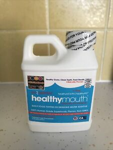 Healthy Mouth Water Additive Food Topper For Dogs 8 Oz