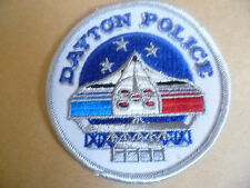 Patches: DAYTON City in Ohio POLICE PATCH (NEW* apx.9.5x9.5 cm)