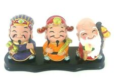 China 3 Longevity God Fu Lu Shou Life Statue 3PCS set
