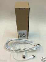 New Genuine Bang & Olufsen B&O POWERLINK 8 PIN DIN Mk 3 Speaker Cable 10m White