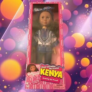 Sparkle And Shine Kenya Doll Growing Up Pretty And Proud - Kidzart
