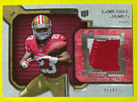 🔥2012 Topps Strata LaMICHAEL JAMES 49ers Numbered 21/41 HTF RC Oregon Ducks🦆