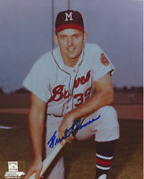 1960's BRAVES Frank Thomas signed 8x10 photo AUTO Autographed Milwaukee
