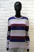 LIU JO Maglione Donna Taglia M in Cashmere Cardigan Pullover Sweater Woman