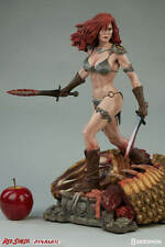 "SIDESHOW RED SONJA SHE DEVIL WITH A SWORD 20"" Premium Format Resin Statue Conan"