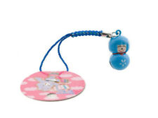 Jewel of portable charms doll kokeshi japanese bell tinker bell 6732