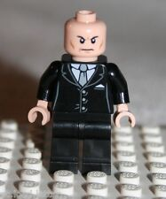 Lego LEX LUTHER MINIFIGURE from Super Heroes Superman vs. Power Armor Lex (6862)