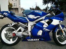 Yamaha YZF R6 Exhaust 1999 2000 2001 2002  XBSS Extremeblaster Internal baffle