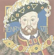 King Henry VIII Tapestry Needlepoint Canvas DMC