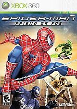 Spider-Man: Friend or Foe XBOX 360 Action / Adventure (Video Game)