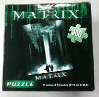 "NEW! Cardinal Industries/Warner Bros. ""The Matrix"" Puzzle:  300pc  11""x14"""