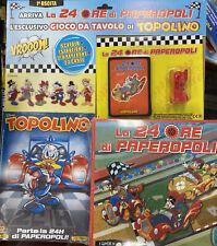 Disney TOPOLINO nr. 3416 + Gioco Da Tavolo LA 24 ORE DI PAPEROPOLI VOL.1