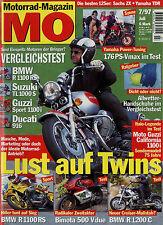 mo 7/97 1997 Bimota 500 Vdue BMW R 1200 C Moto Guzzi California 75 Sachs ZX 125