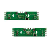 PCB010 2pcs Model Train Power Distribution Board With Status LEDs for DC and AC