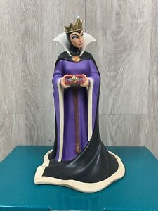 "WDCC Snow White & The Seven Dwarfs Queen ""Bring Back Her Heart"" w/Box & COA #979"