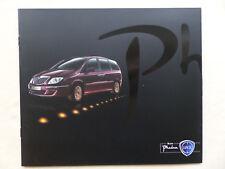 Lancia Phedra - Prospekt Brochure 03.2008