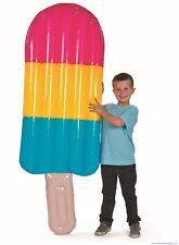 GIANT 7 FT Rainbow Party Decoration Ice Pop Inflatable Popsicle Toy + 1 Milllon