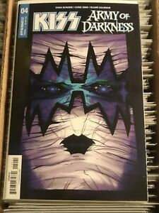 KISS ARMY OF DARKNESS #4 ACE FREHLEY SPACEMAN GONI MONTES VARIANT COVER B 2018