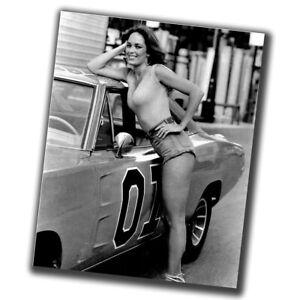 Catherine Bach Celebrities Vintage Retro Star Photo Glossy Big Size 8X10 in Z022
