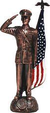Bronze Marine Corp Figurine DC1554
