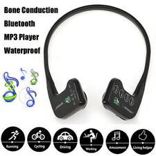 8GB Bone Conduction Earphones Bluetooth Sweatproof Running USB Headset Headphone