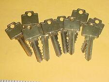 10 Cut alike keys USCAN n1054wb WR5 for Weiser locks Brass NOS vintage