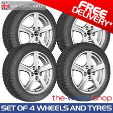 "16"" Skoda Yeti - 2009 - 2018 Borbet Silver Alloy Wheels and Winter Tyres"