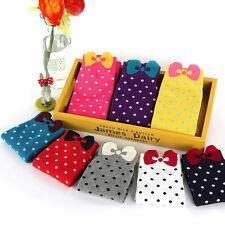 Happy Socks Womens Casual Dress Socks Polka Dots Multi-Color New.