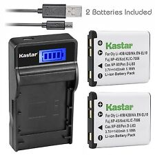 KLIC-7006 Battery & Charger for Kodak Easyshare M550 M552 M575 Touch M577 M580