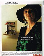 Publicité Advertising 1989 Le Lave Vaisselle Miele