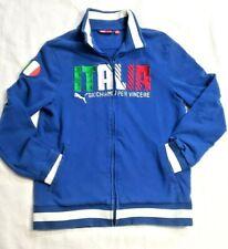 Puma ITALY Italia Gioca Per Vincere #18 EMBROIDERED Track Jacket Men's SMALL EUC
