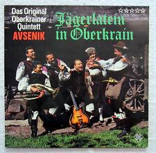 LP / DAS ORIG.OBERKRAINER QUINTETT AVSENIK / SCHWEIZ PRESSUNG / RARITÄT /