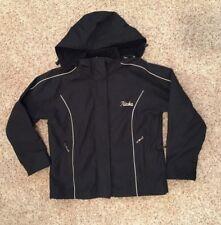 Women's Size XL Chenerol Heavyweight Hooded Black Winter Coat Jacket Alaska