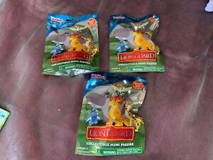 3 x Disney The Lion Guard Collectable Mini Figure Blind Bag - Series 5