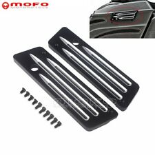 Motorcycle Saddlebag Latches Cover For Harley Touring Street Electra Glide 93-13