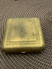 Antique Gillette Tuckaway Gold Case Only