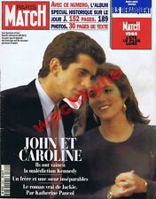 Paris Match n°2350 du 09/06/1994 John Caroline Kennedy Pondichéry